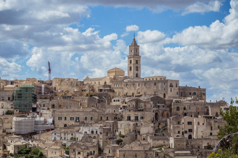 Matera: Man's History is Served