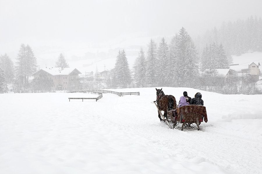 The Dolomites: A Winter Playground