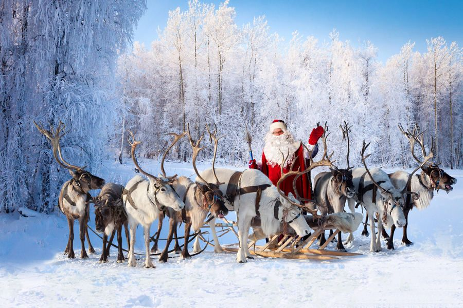 Meet Santa under Magical Finnish Skies