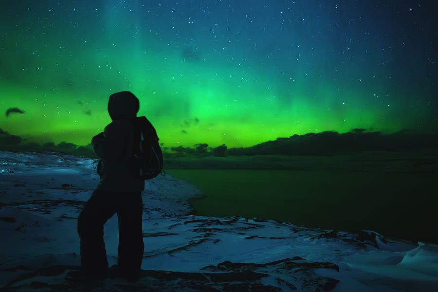 The Russian Tundra and the Green Nightskies