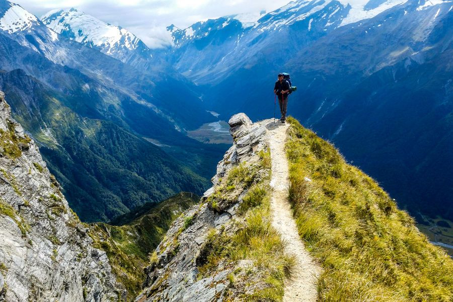 Hiking Adventure in New Zealand's Fiordland