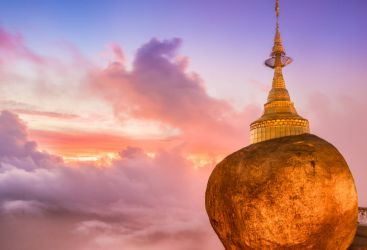 Myanmar: The Golden Rock and the Salween Flow