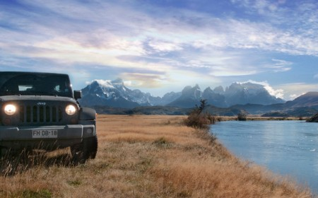 Jeep Gauchos in Wild Patagonia