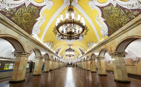 The secrets of Moscow and St. Petersburg