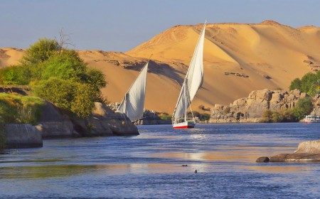 A Cruise in the River Nile, Roadway of Pharaohs